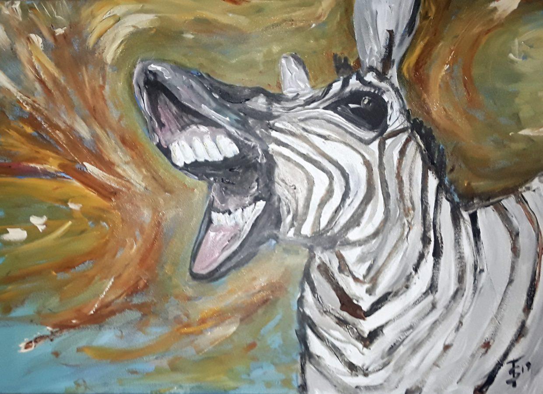 Zebra, 2019, 150€